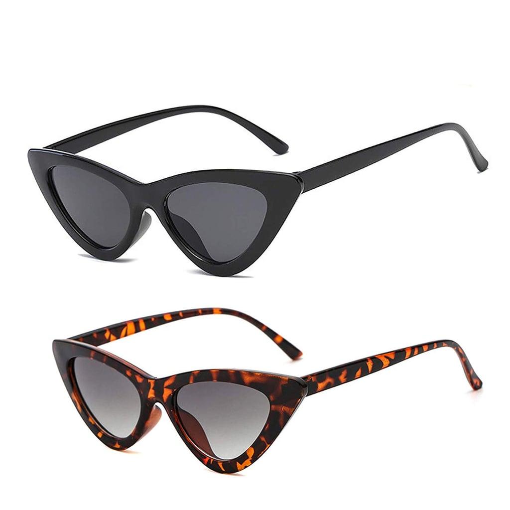 YOSHYA Retro Vintage Cat-Eye Sunglasses