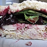 Turkey Sandwich With Cherry Compote