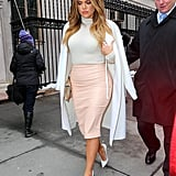 Khloé in NYC in 2015