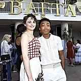 Asante Blackk and Joey King at the BAFTA Los Angeles and BBC Tea Party
