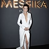 She Wore This Brandon Maxwell Dress While Promoting Her New Messika Jewelry Collection