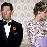 When Charles Matched His Pocket Square With Diana's Dress