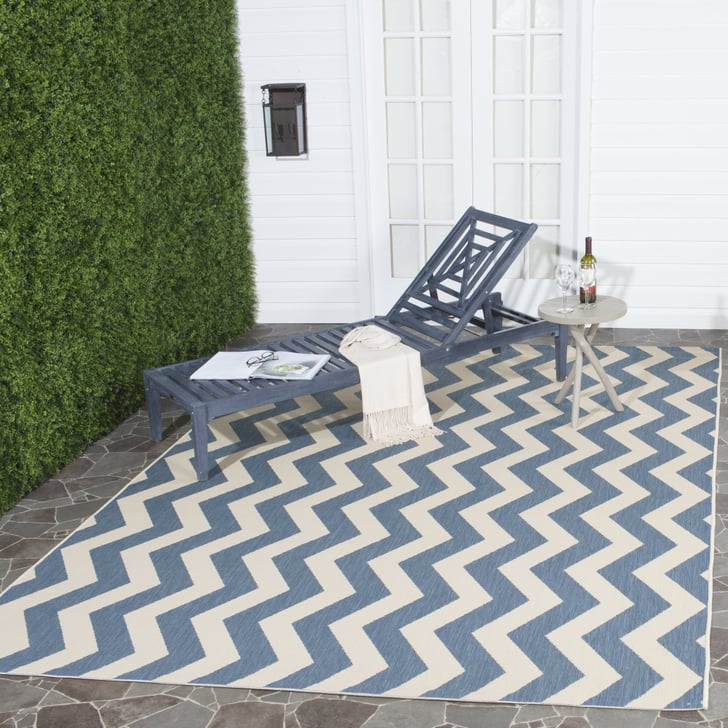 Safavieh Courtyard Ayden Chevron Indoor Outdoor Area Rug