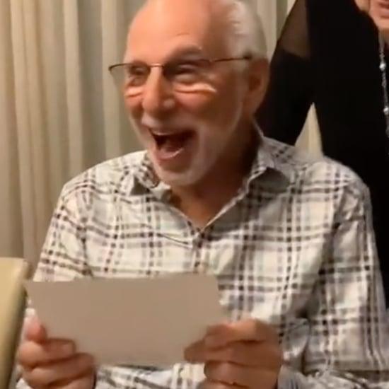 80-Year-Old Grandpa Reacts to Dua Lipa Concert Tickets