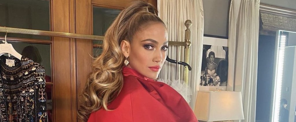 Jennifer Lopez in Christian Siriano People's Choice Awards