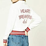 Forever 21 Heart Breakers Club Jacket