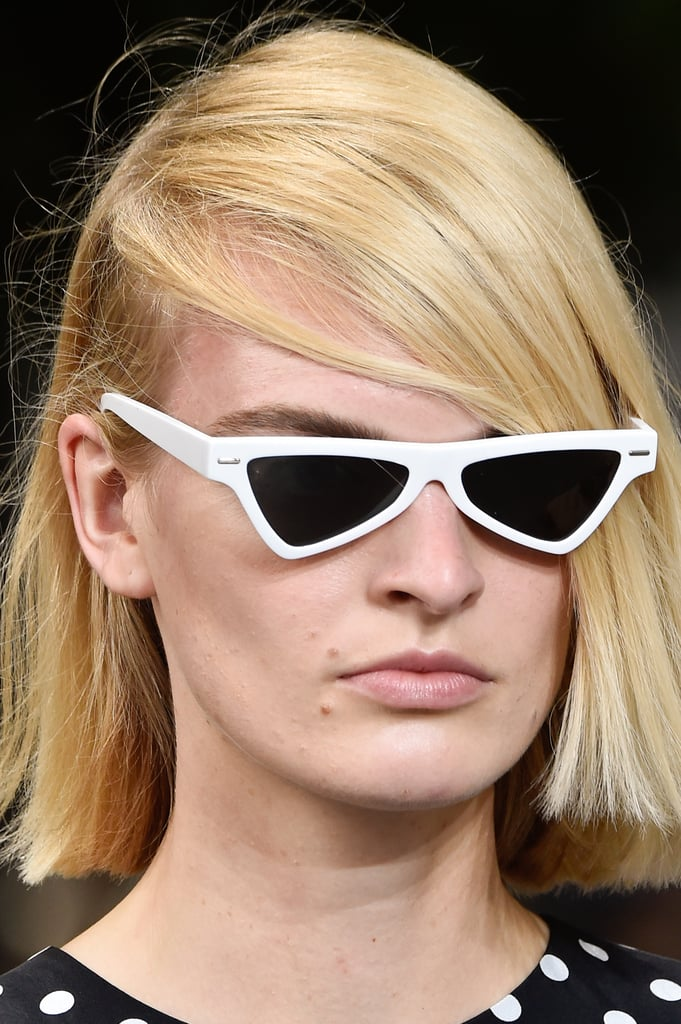 Sunglasses on the Michael Kors Collection Runway During New York Fashion Week