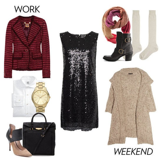 Make the most of your New Year's Eve dress by learning how to style it throughout the season.