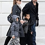 Photos of the Jolie-Pitts