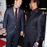 Chris Pratt and Denzel Washington at TIFF 2016
