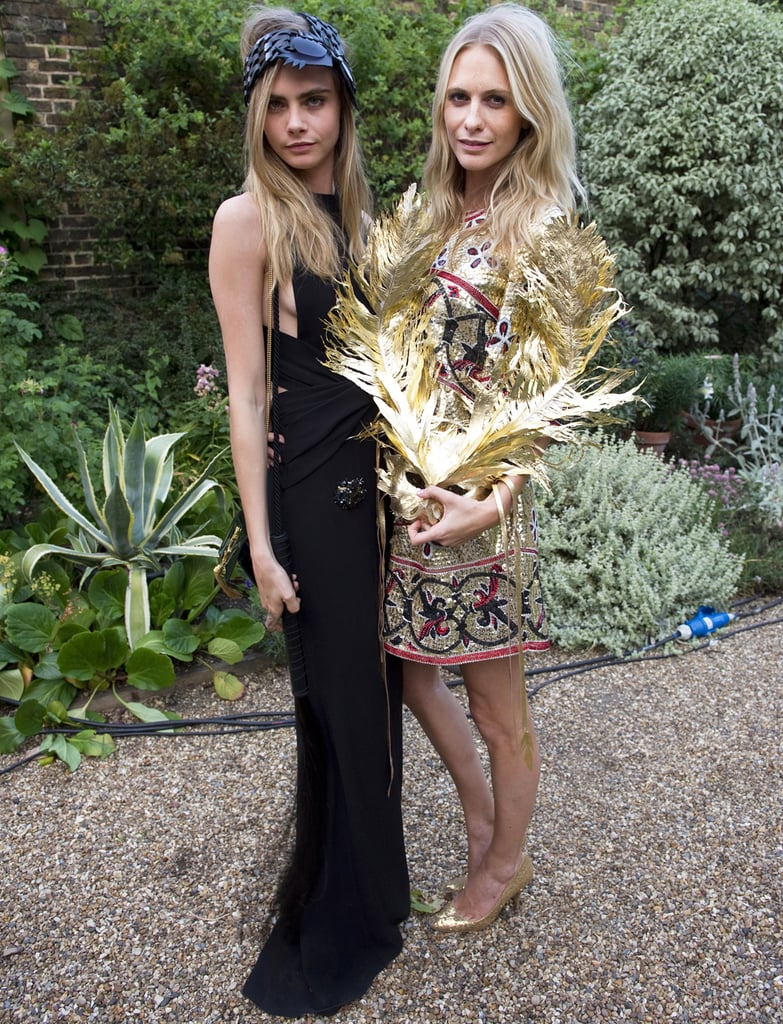 Sisters Cara and Poppy Delevigne