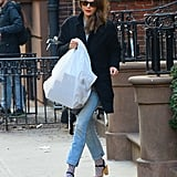 Keri Russell's Easy Styling Hack Is Just What Your Jeans Need