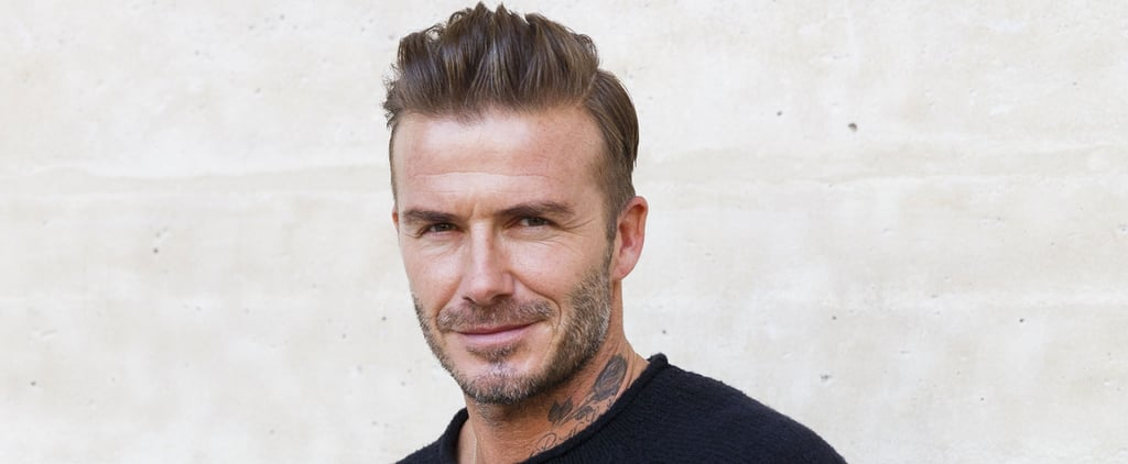 David Beckham Looks Like a Living, Breathing Calvin Klein Ad at Paris Fashion Week