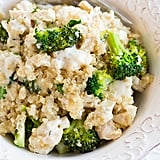 Creamy Broccoli and Chicken Quinoa Casserole