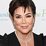 Kris Jenner With a Pixie Cut