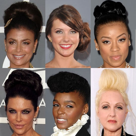 Trend Alert: Volumized Updos at the 2009 Grammys