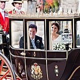 Why Did Princess Eugenie and Jack Use a Closed Carriage?