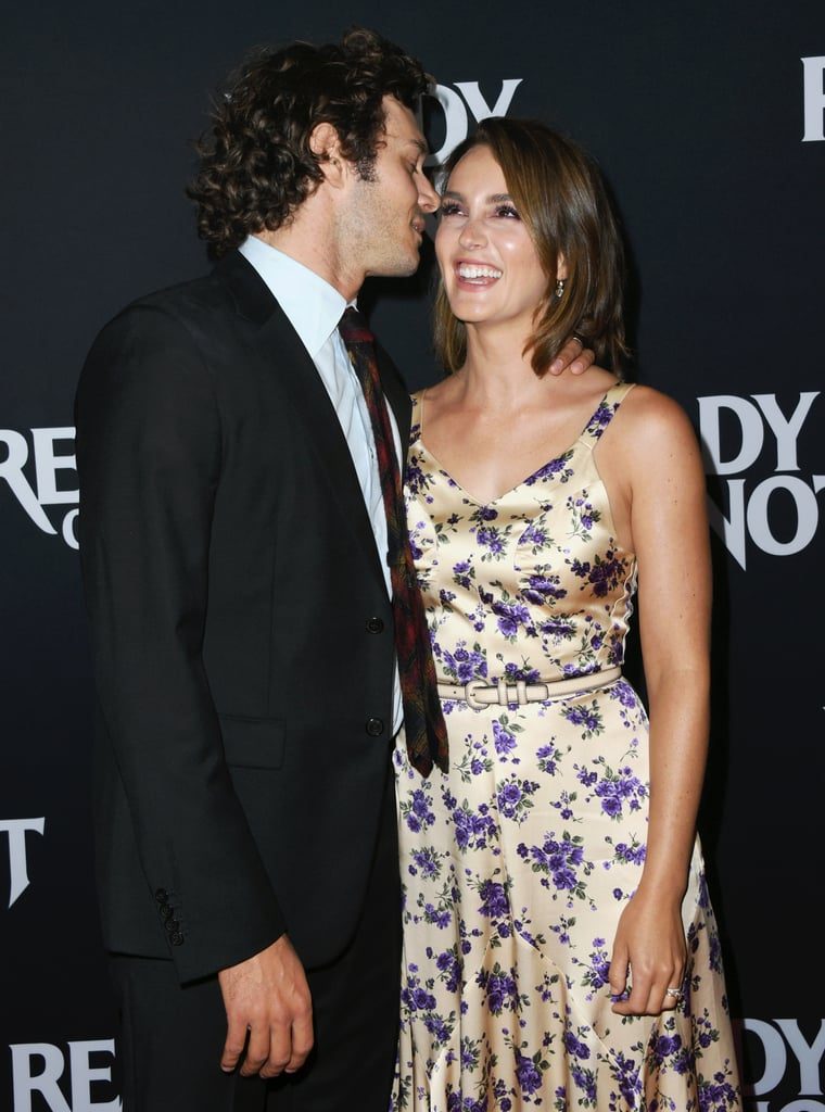 Adam Brody and Leighton Meester shared a cute little secret as they attended his Ready or Not premiere in LA on Monday. The notoriously private couple and parents to 4-year-old daughter Arlo were all kinds of adorable as they walked the red carpet together and flashed a few smiles for the cameras. At one point, Adam even whispered into his wife's ear, causing Leighton to bust out laughing. Seriously, what were they talking about?  Their cute appearance comes after Adam's run-in with his former costar Rachel Bilson, which prompted many fans to ask for an O.C. reboot. While it's unlikely Adam will be returning to Orange County anytime soon, there is a chance we'll see Leighton back on the Upper East Side. Gossip Girl is getting rebooted for the streaming service HBO Max, and executive producer Josh Schwartz confirmed that everyone from the original cast has been asked to return. In the meantime, we'll just appreciate that Seth Cohen and Blair Waldorf ended up together in real life!       Related:                                                                                                           All the Times Leighton Meester and Adam Brody Gave Us a Glimpse of Their Sweet Romance