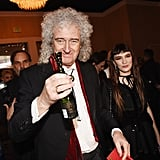 Pictured: Brian May