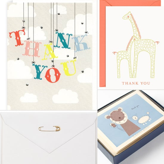 Merci, Baby! 15 Cute Shower Thank-You Notes