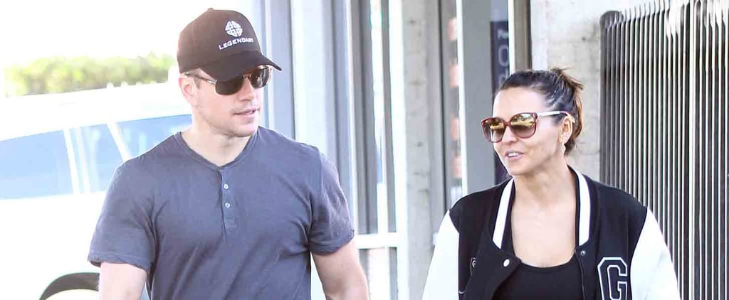 Matt Damon and His Wife Hold Hands After Hitting the Gym in LA