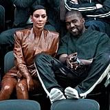 Kim Kardashian Balmain Latex Look 2