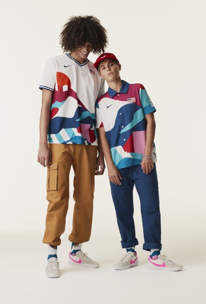 Team USA 2021 Olympic Skateboarding Uniforms
