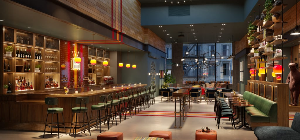 Moxy Hotels Bars and Restaurants
