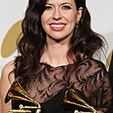 Joy Williams of The Civil Wars held her first two Grammys this year.