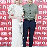 Lucy Boynton and Rami Malek at the Venice Film Festival