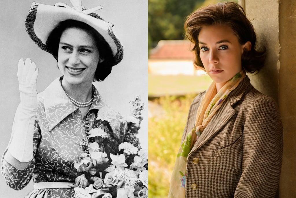 Princess Margaret and Vanessa Kirby