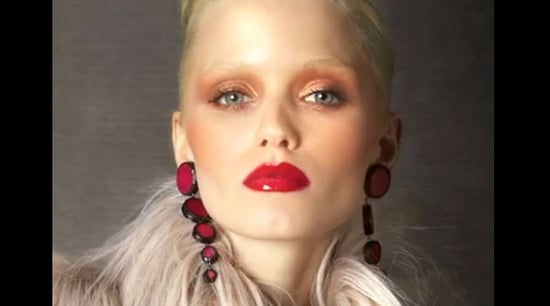 Tom Ford's Autumn Winter Look Book in Motion: Spot Abbey Lee Kershaw in Tom's Luxe Collection