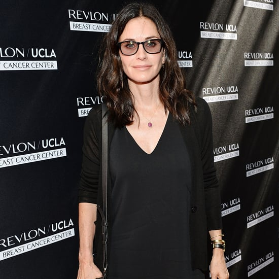 Courteney Cox Talks Brad Pitt and Angelina Jolie's Divorce