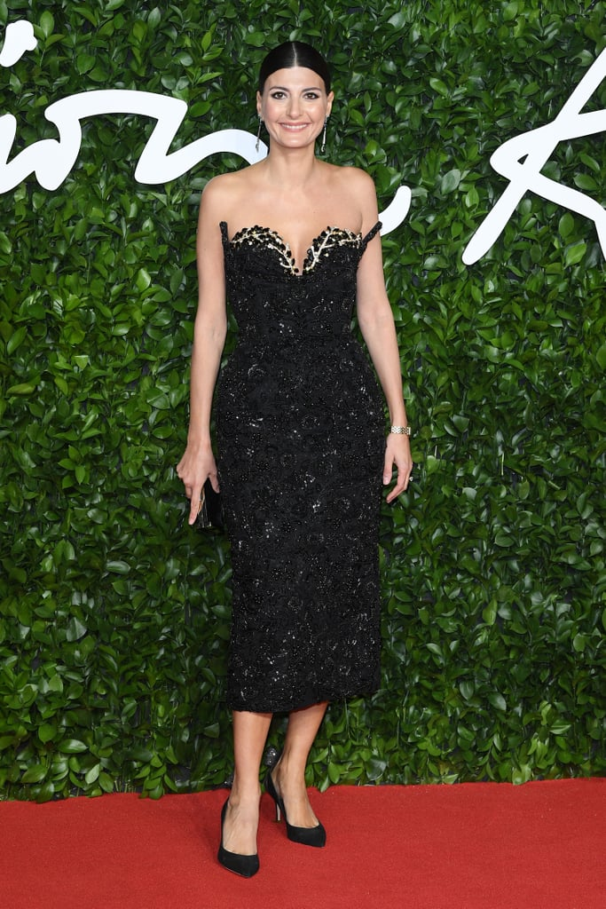 Giovanna Battaglia Engelbert at the British Fashion Awards 2019