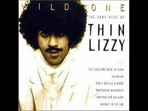 """The Boys Are Back in Town"" by Thin Lizzy"