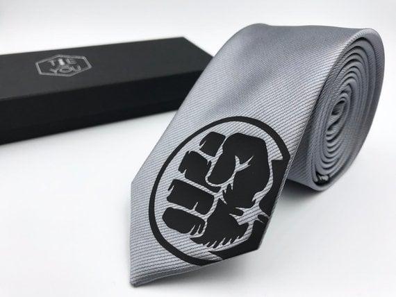 Hulk Silk Tie