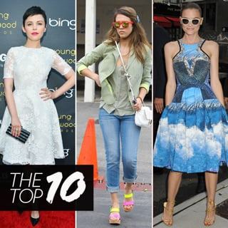 Top 10 Best Dressed Celebrities This Week Including Jessica Alba, Jaime King and Kate Middleton