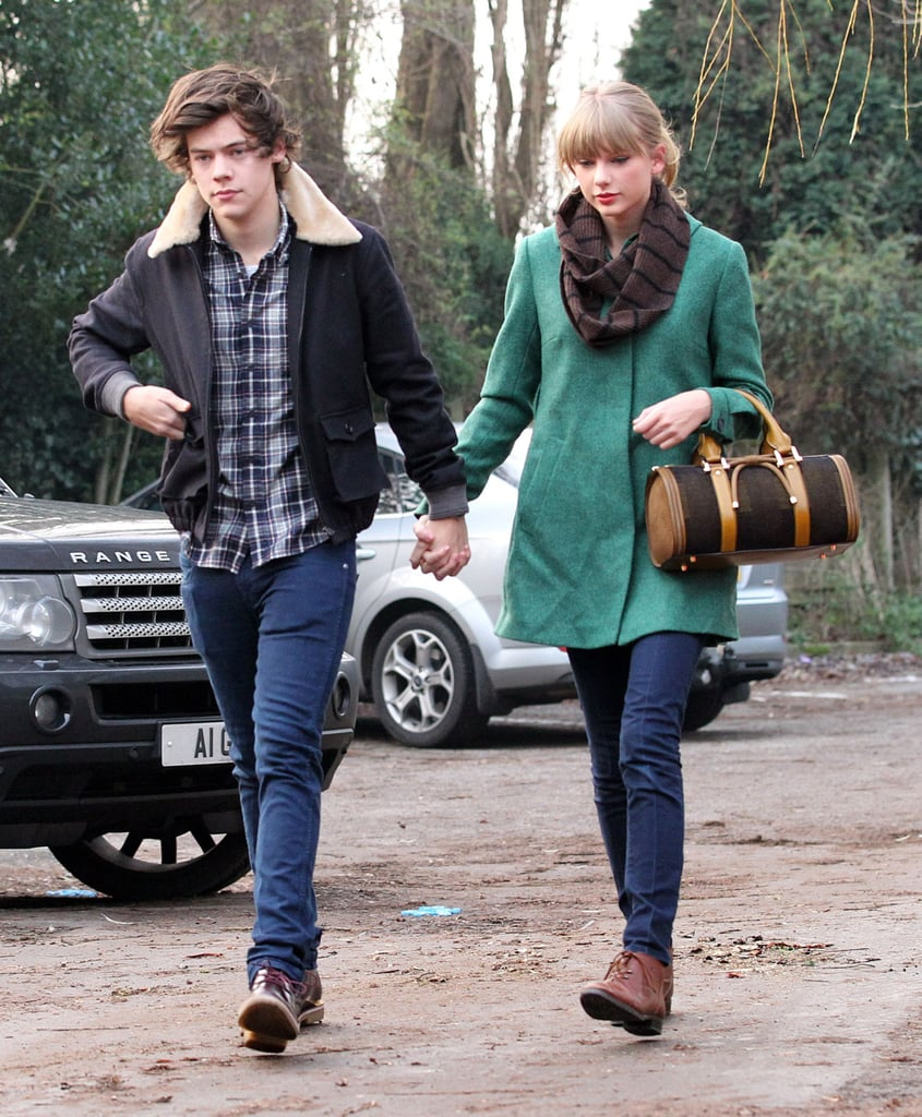 Taylor Swift and Harry Styles were together Thursday for lunch in his native England. The happy new couple drove to the town of Great Budworth to stay at the George and Dragon Hotel and later lunched during a stop at a Chinese food restaurant. It was a special occasion, since it was Taylor's 23rd birthday — and we marked her big day with a look at fun pictures of Taylor Swift looking surprised. Taylor and Harry took their love to the UK, where they've been visiting pretty villages and having fun together, after a stay in the US. They went public with their romance only early this month with a much-photographed visit to the Central Park Zoo. It seems they've gone their separate ways for the moment, though — Harry dropped Taylor off at the airport yesterday, when she took off for another adventure in Germany.