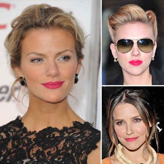 Celebrities Wearing Hot Pink Lipstick