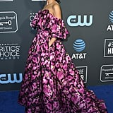 Gemma Chan Hair Critics' Choice Awards 2019