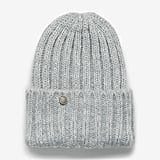 Express Chunky Ribbed Cuff Beanie