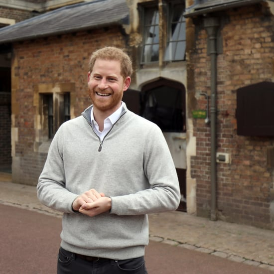 Prince Harry on Watching Meghan Markle Give Birth to Son