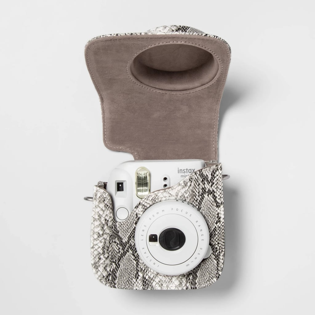 Heyday Snake Skin Instax Camera Cross Body Case
