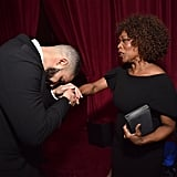 Pictured: Drake and Alfre Woodard