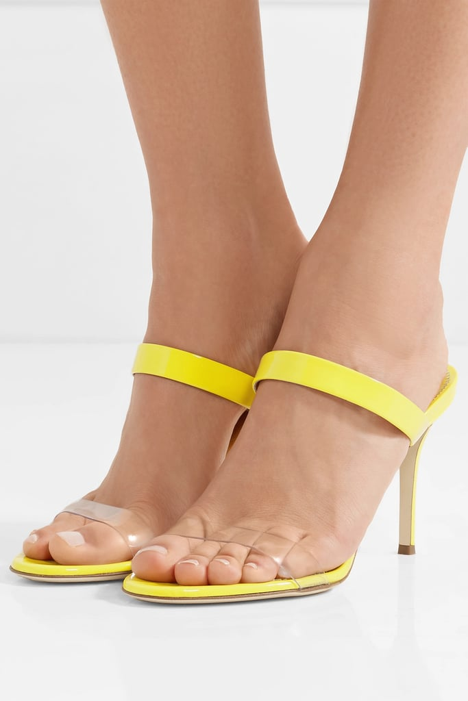0621c3c67f580a Giuseppe Zanotti Ali Patent-Leather and Perspex Sandals