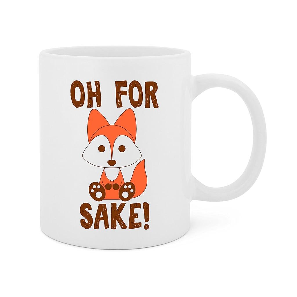 MADE IN UK FOR FOX SAKE COASTER OR SET OF BOTH FUN NOVELTY MUG