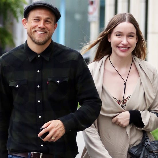 Charlie Hunnam and Morgana McNelis in LA June 2016