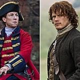 Jack Randall and Jamie Fraser From Outlander