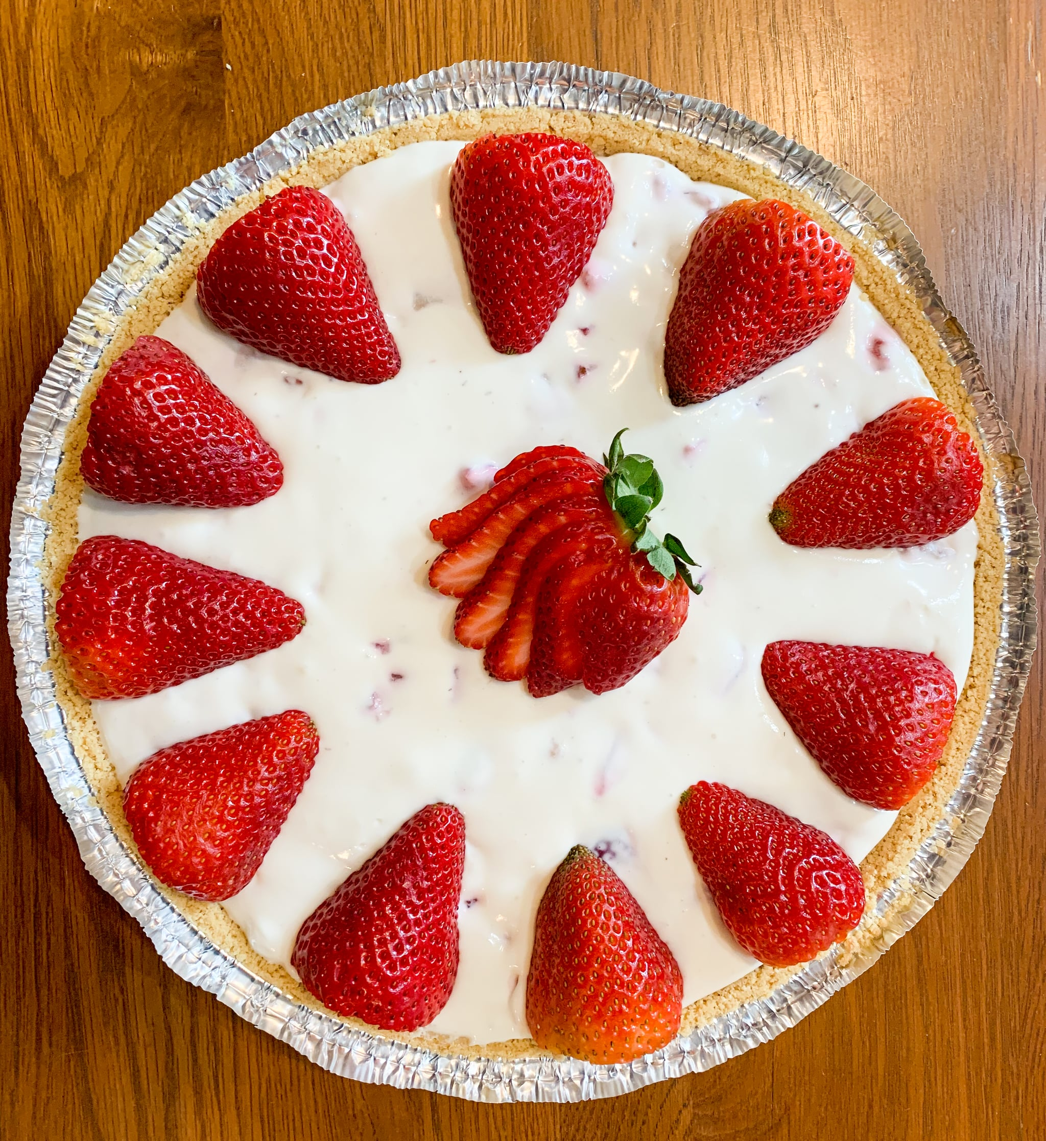 Joanna Gaines S Strawberry Pie Recipe With Photos Popsugar Food