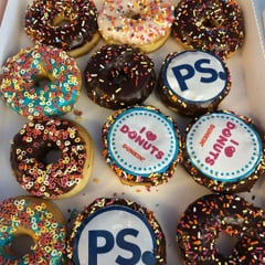 PS Donuts for National Donut Day!
